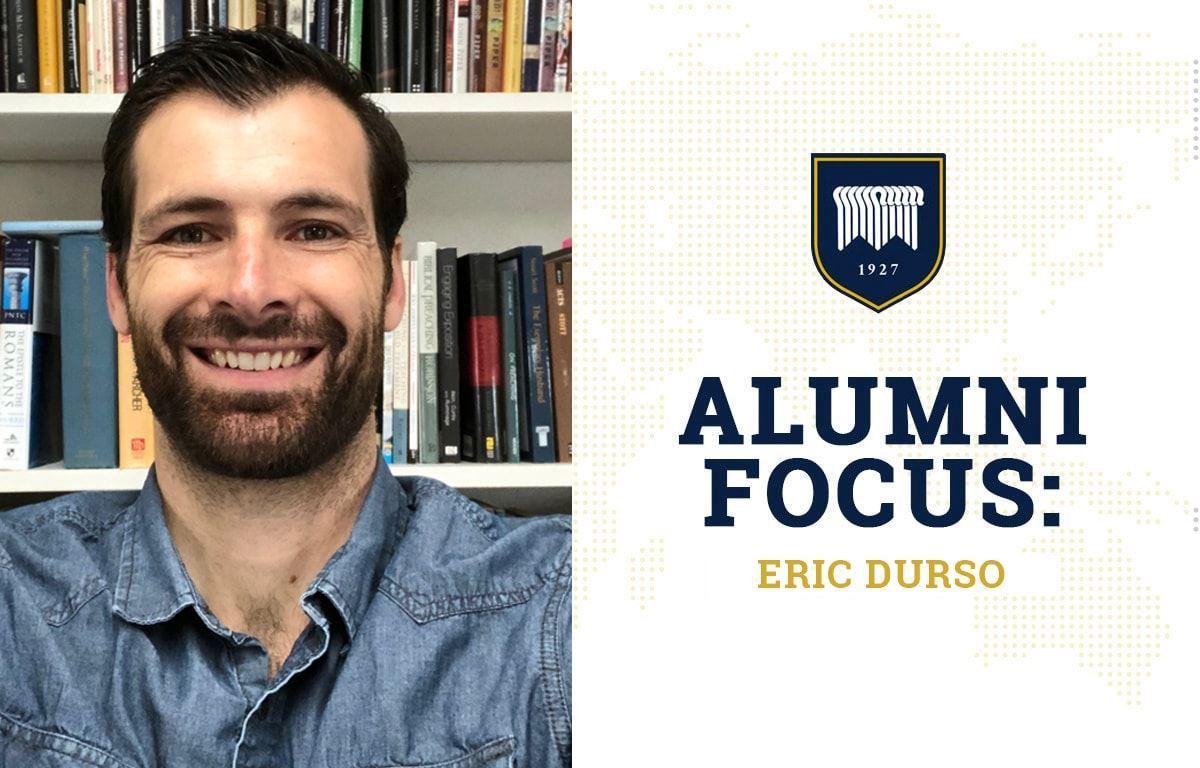 Alumni Focus Eric Durso image