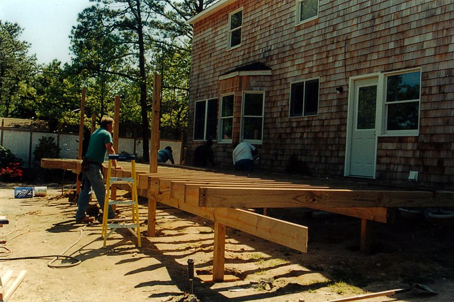 Deck Blakewood Construction 07
