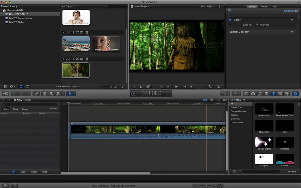 Final Cut Pro Intregation Cantemo Portal App