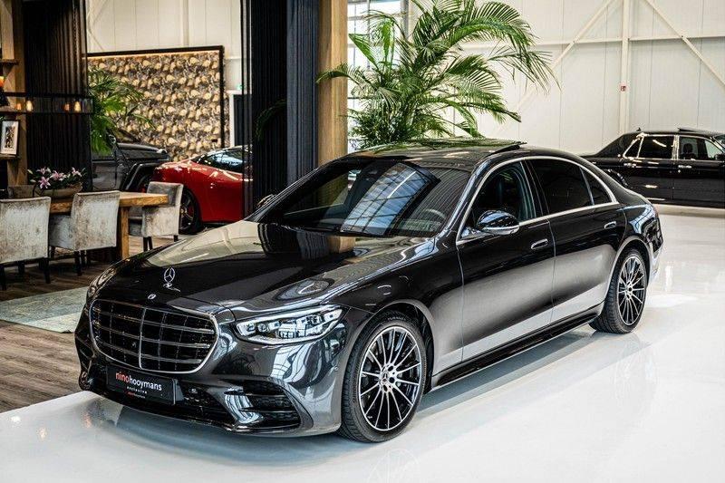 Mercedes-Benz S-Klasse 400d 4Matic Lang AMG | 3D Display | Augmented Head-Up Display | Burmester 3D | Pano | Memory afbeelding 4