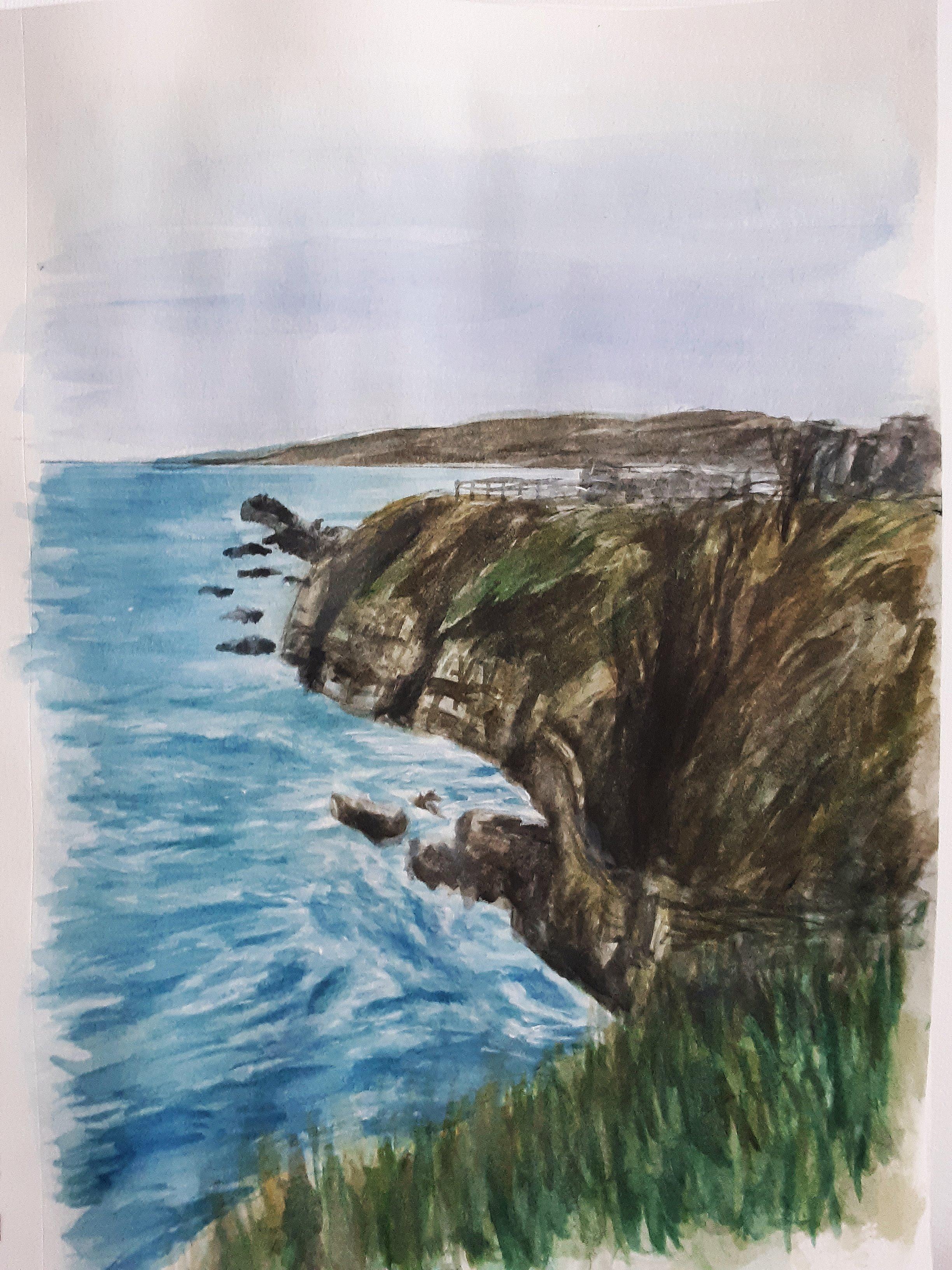 Scotland Cliffs