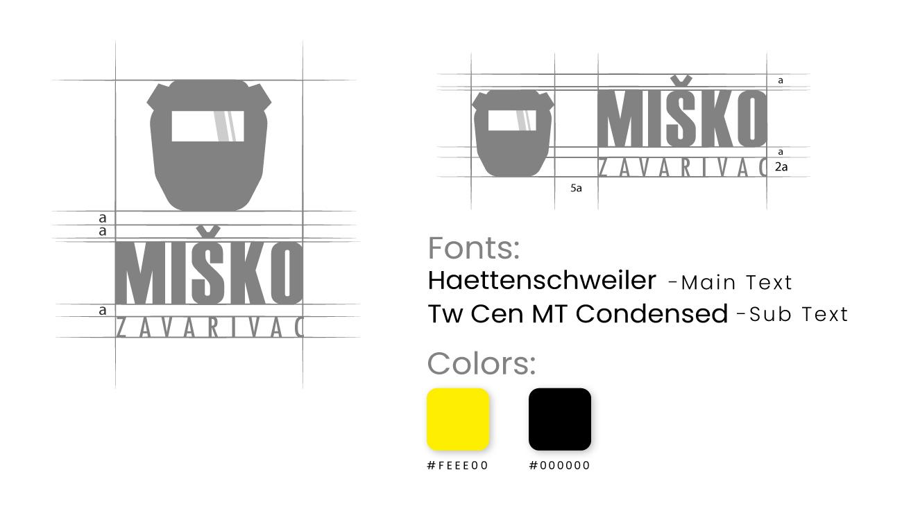 Logo Design Misko Zavarivac presentation