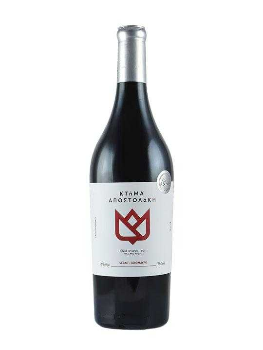 red-organic-syrah-xinomavro-750ml-apostolaki-estate