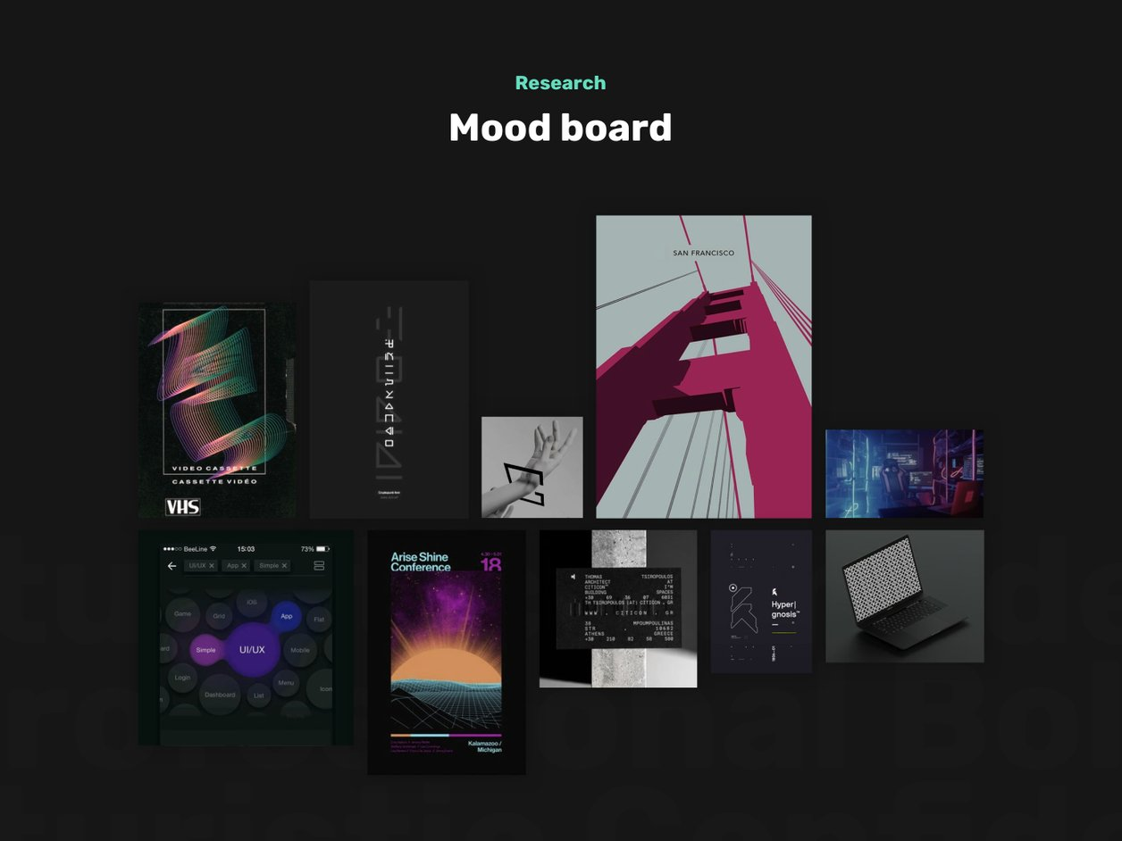 Moodboard - UI Design | Logflare