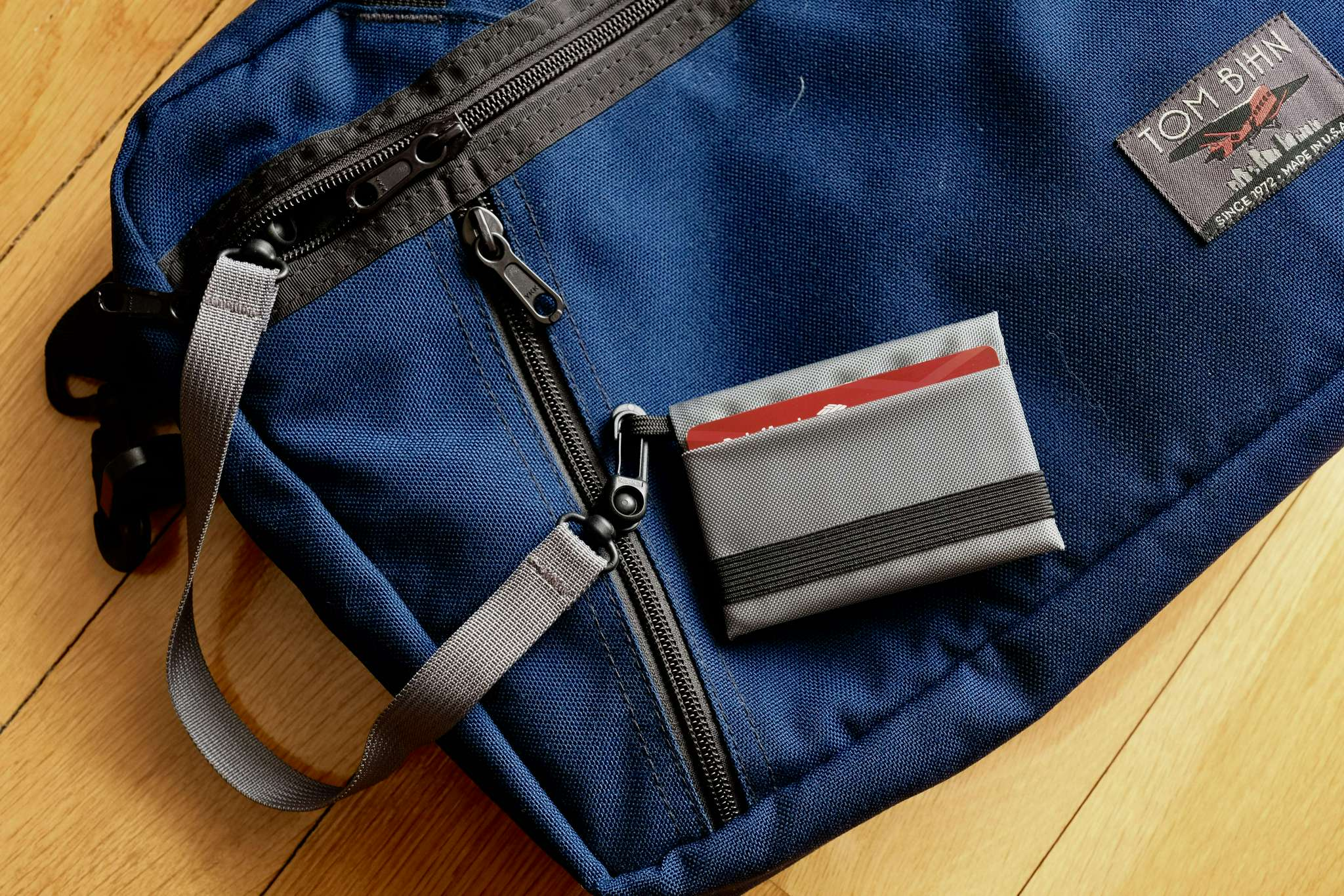 Wallet #4 can be attached to a bag