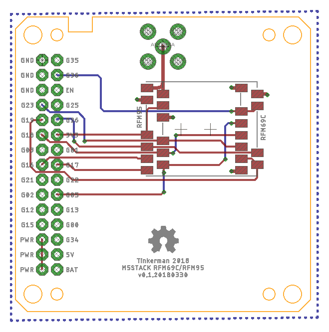 M5Stack Node for the Things Network - Tinkerman