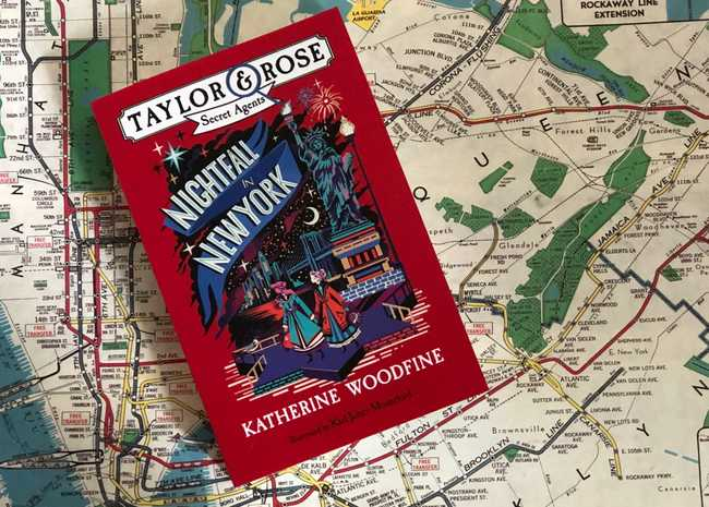 Blog Tour: 'Nightfall in New York' with Katherine Woodfine and Karl James Mountford