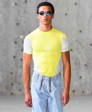 GmbH SS19 Eevan T-Shirt Yellow Preview
