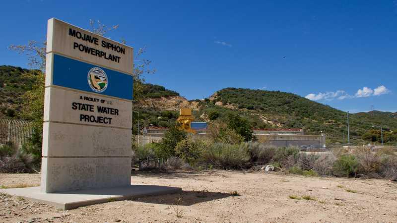 Power plant at Cedar Springs Dam