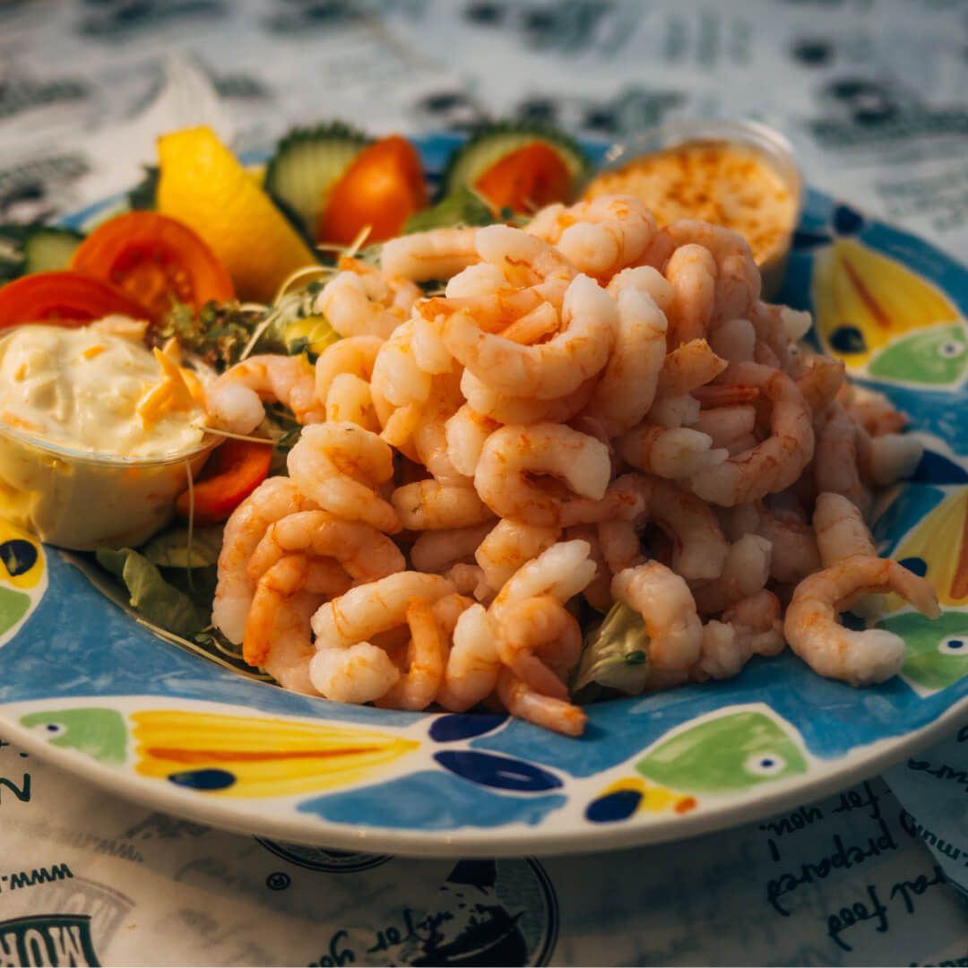 Murgatroyds prawn salad