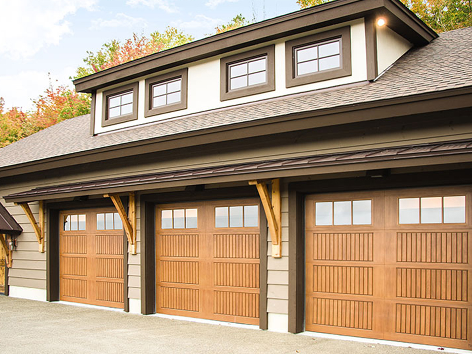 If you prefer a more modern appearance, it's hard to beat the aesthetic appeal of Wayne Dalton. With designer fiberglass, steel and wood garage and carriage house doors, you can get the look you love at a great deal.
