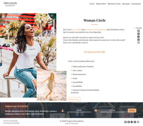 Woman Circle Page