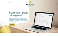 The homepage of Vestwell.com