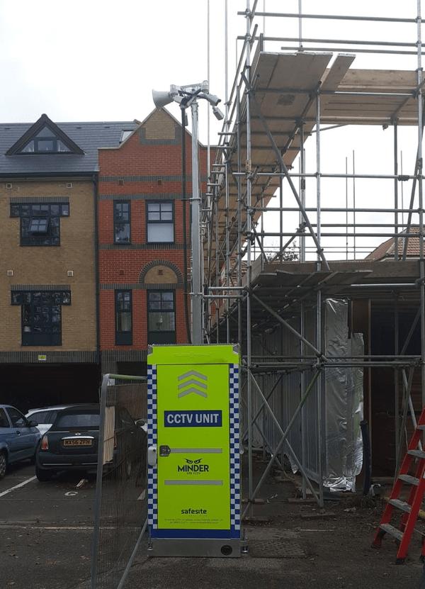 RDT CCTV by scaffolding