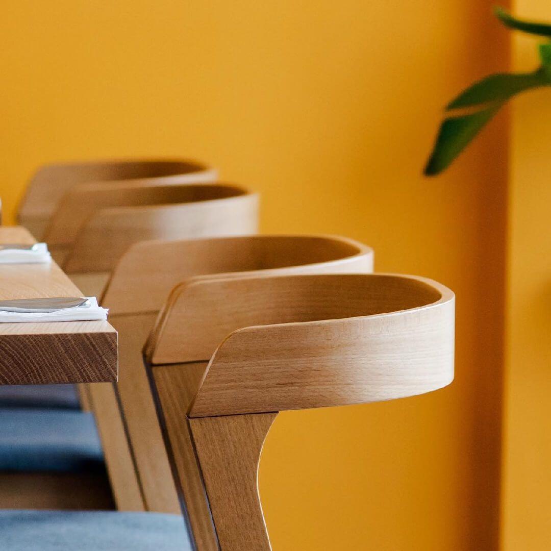Sarto Pasta inside seating
