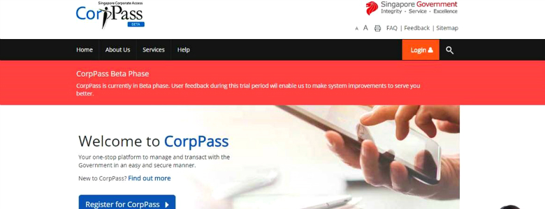 CorpPass the new Corporate Digital Identity