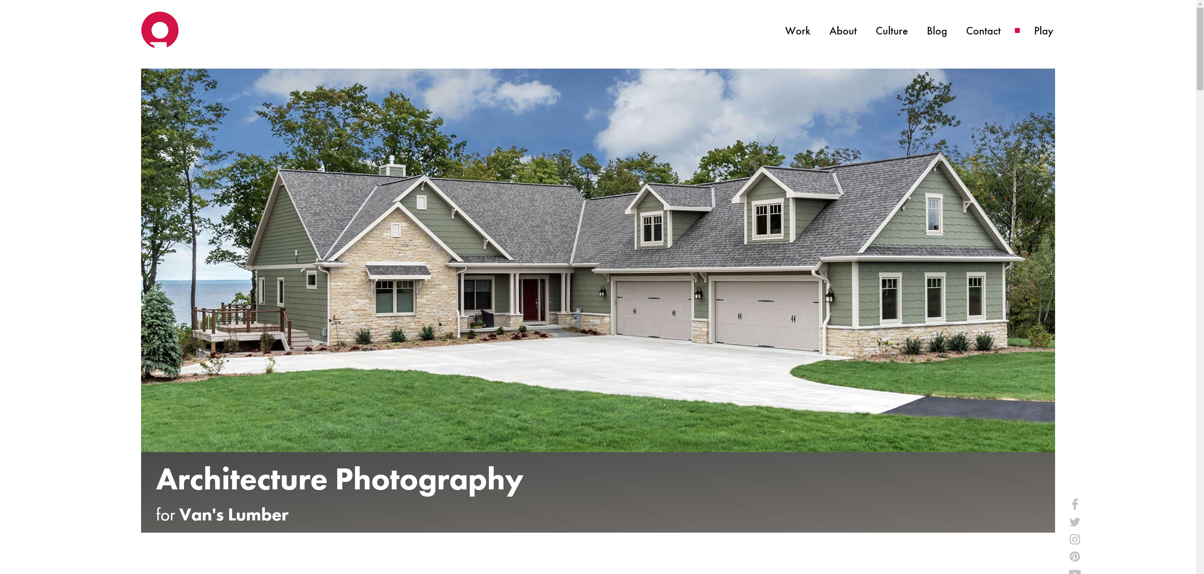 New Website Imagery