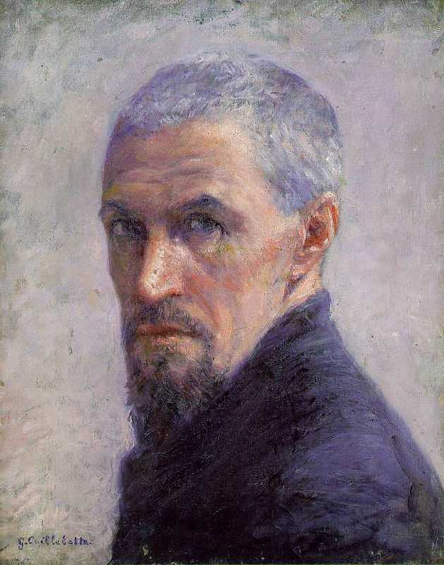 A Self-portrait by Gustave Caillebotte (1848-1894) in his later years, oil on canvas