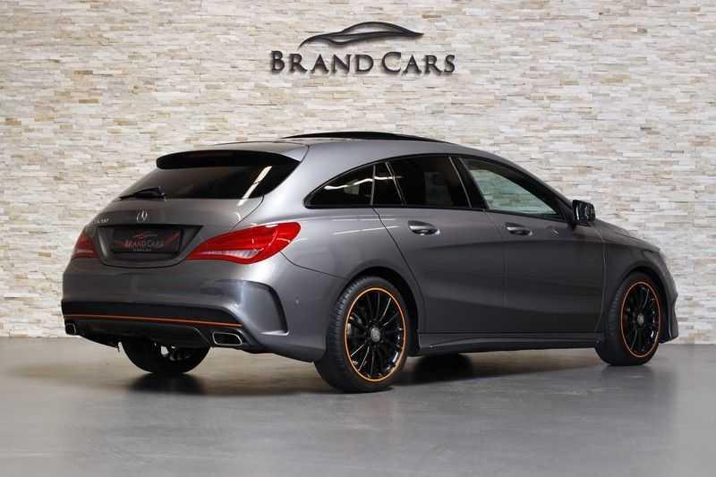 Mercedes-Benz CLA-Klasse Shooting Brake 200 OrangeArt Edition | VERKOCHT! | | Panoramadak | Memory stoelen | AMG Pakket | Night Pakket | Achteruitrijcamera | afbeelding 5