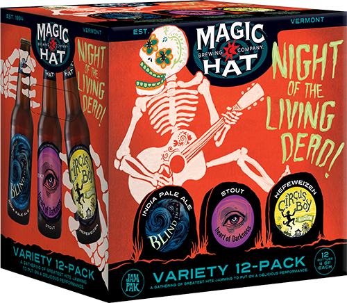Night of the Living Dead Variety Pak-bottle