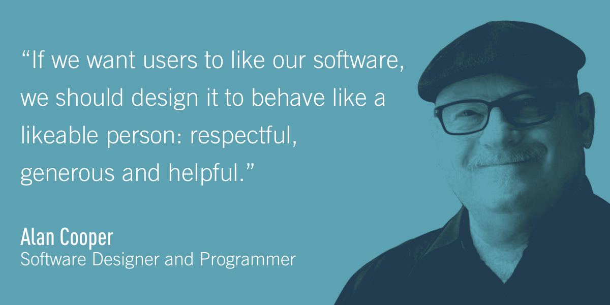 Alan Cooper, Software Designer and Programmer