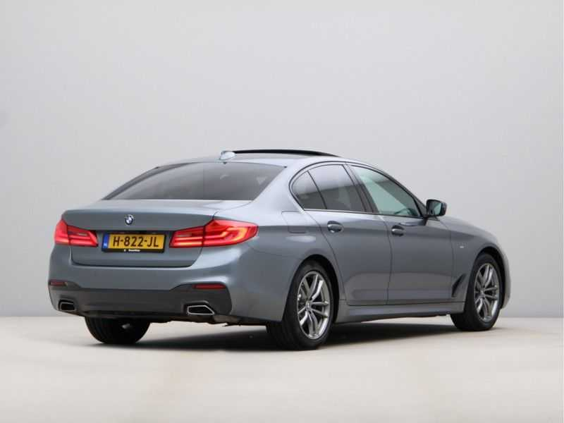 BMW 5 Serie 530i Aut. High Exe M-Sport afbeelding 11