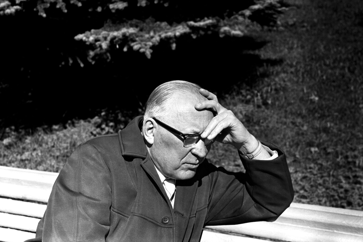 Ефим Павлович Славский. Опалиха, 1973год. Фото: opaliha.ru