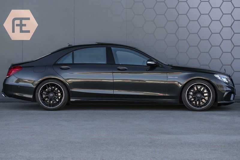 Mercedes-Benz S63 AMG Lang 4-Matic BTW-auto + Magnetite Black + Panoramadak S 63 DISTRONIC Plus + MASSAGE afbeelding 14