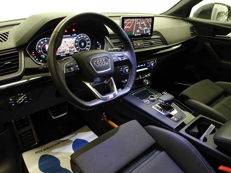 Audi Q5 2.0 TFSI 252pk Quattro [S-Line] Autom- Virtual Cockpit, Leer, B&O, Camera, Xenon Led, Nw model! afbeelding 7