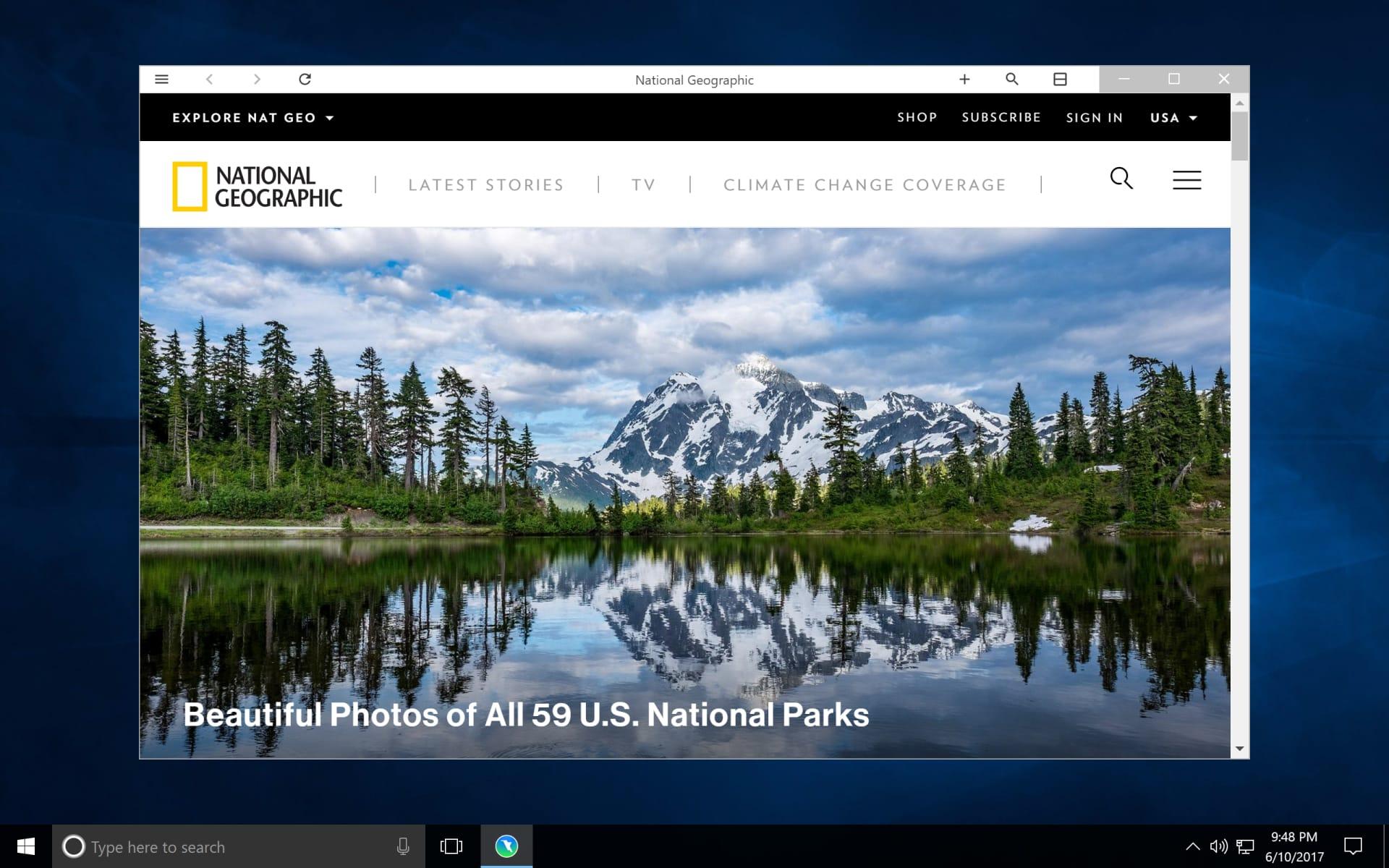 Colibri Browser for Windows