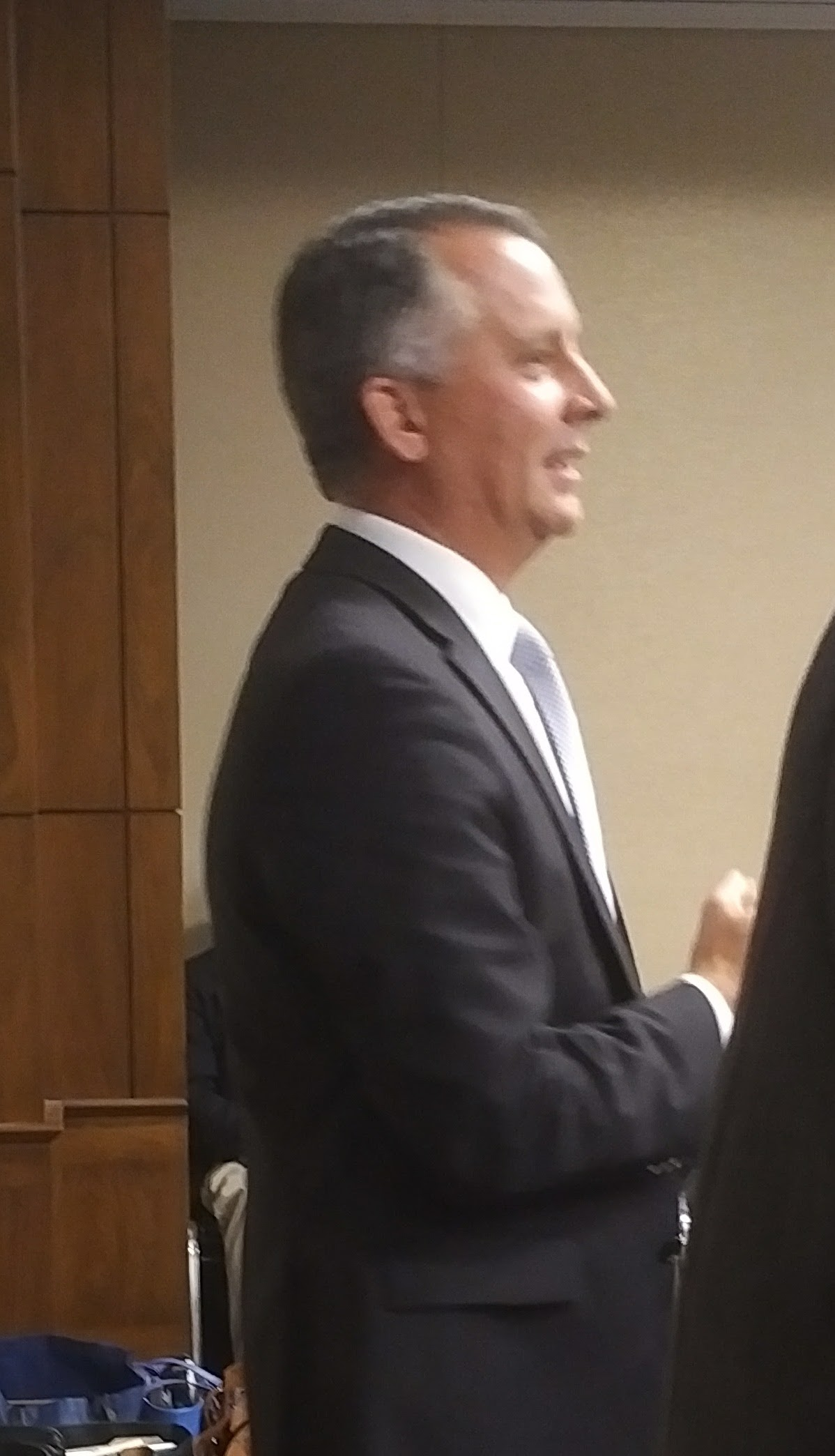 Honorable David Jolly addressing House Earth & Space Science Kickoff