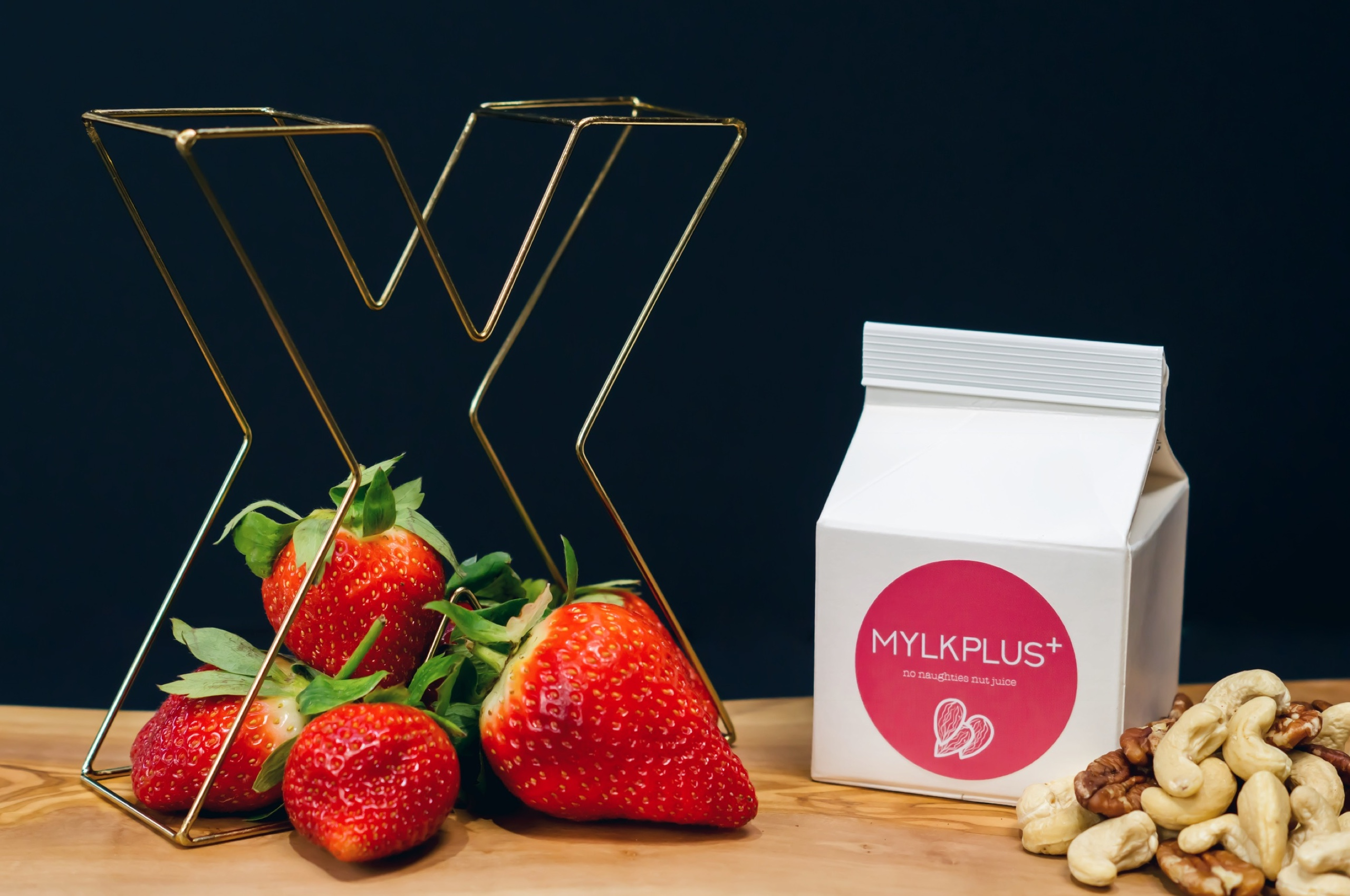 Product photography for MYLKPLUS+ product range