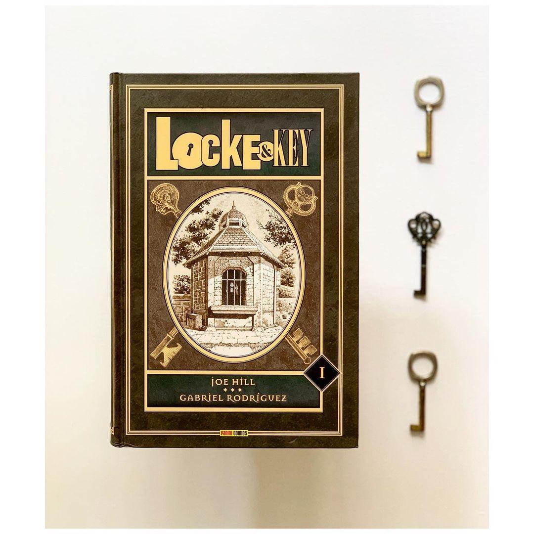 """Imagen de Reseña de """"Locke & Key"""", de Joe Hill y Gabriel Rodriguez"""