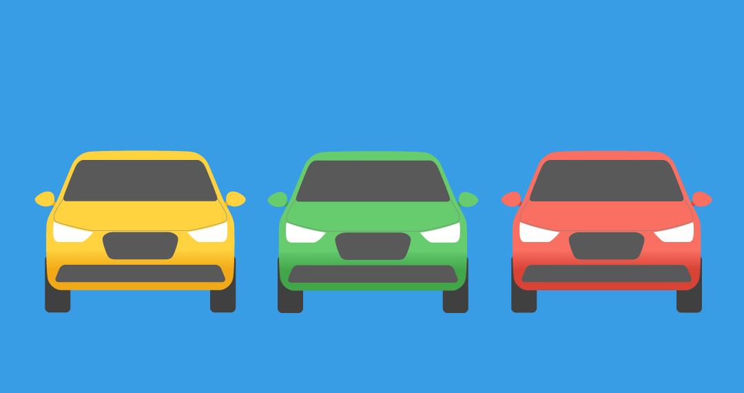 Tre typer biler