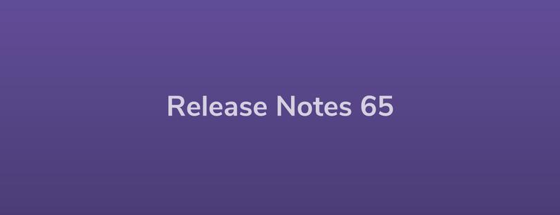 Esper Release Notes – DevRel 65