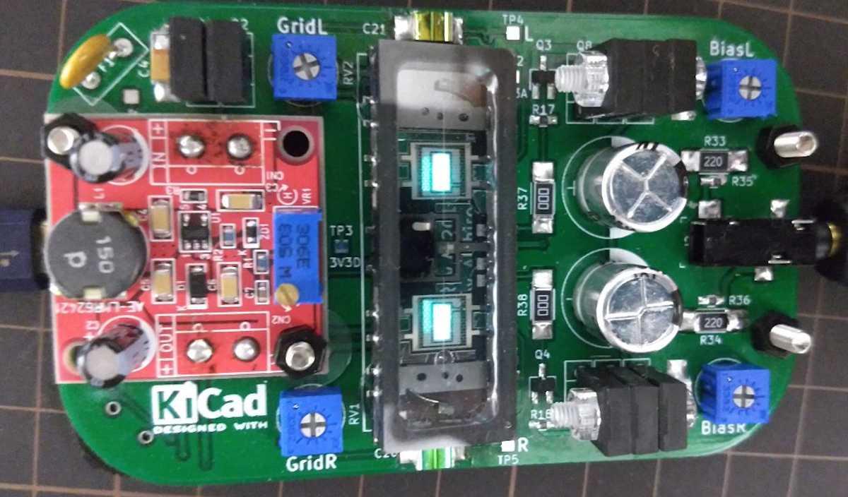 PCM2704 / Nutube でDAC内蔵ヘッドホンアンプを作った。 cover image