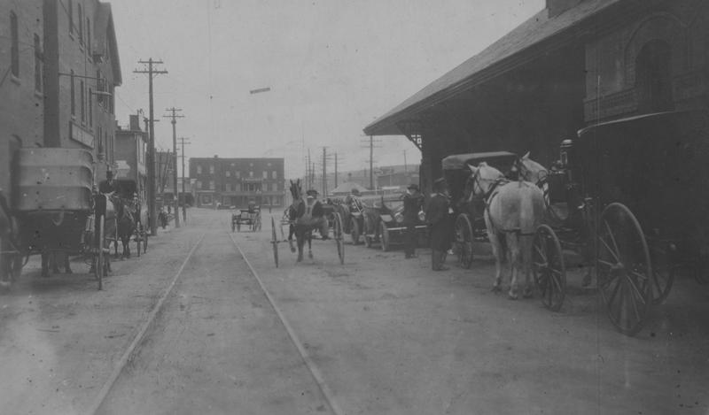 Survol de l'histoire ferroviaire et de celle de la gare Union