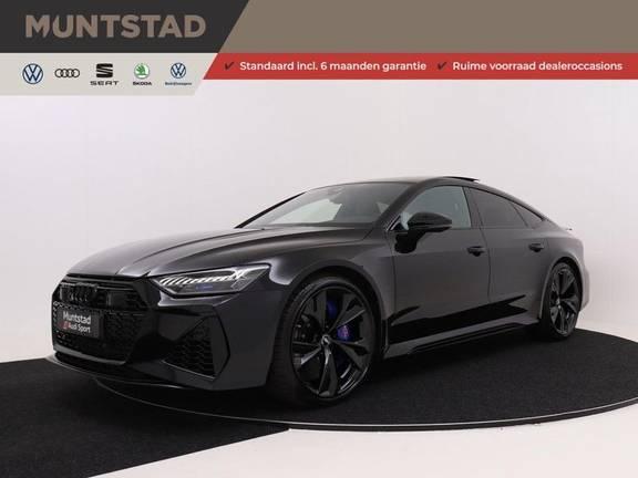 Audi A7 Sportback 4.0 TFSI 600 pk quattro   Dynamische vierwielbesturing   Keramische remschrijven   RS-Sport uitlaatsysteem   Dynamic pakket plus   Laser LED Matrix   Stoelventilatie   Assistentiepakket City & Tour