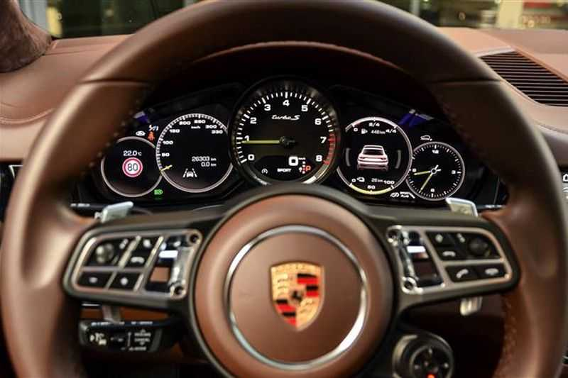 Porsche Cayenne TURBO S E-HYBRID COUPE SPORTDESIGN+BURMESTER NP.241K afbeelding 18