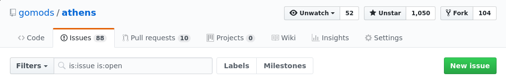 GitHub Issue Tracker