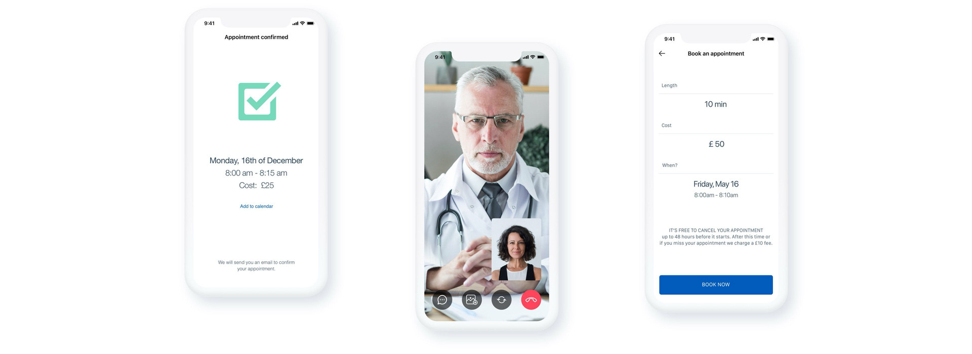 medical app visuals