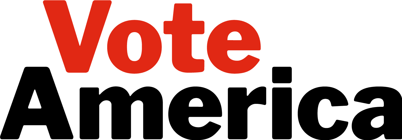 VoteAmerica logo, transparent background