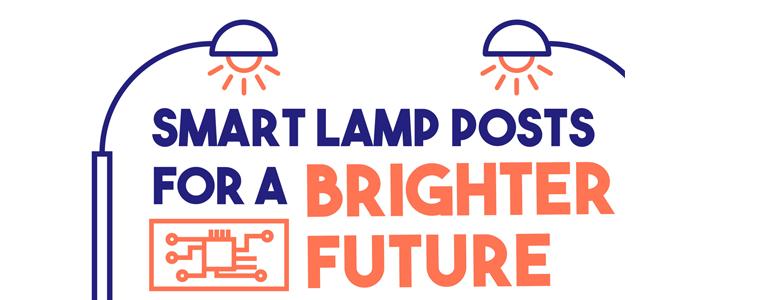 Infographics of Smart Lamp Posts