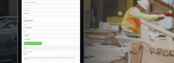 Maak de checklist voor een VCA Certificaat in Incontrol
