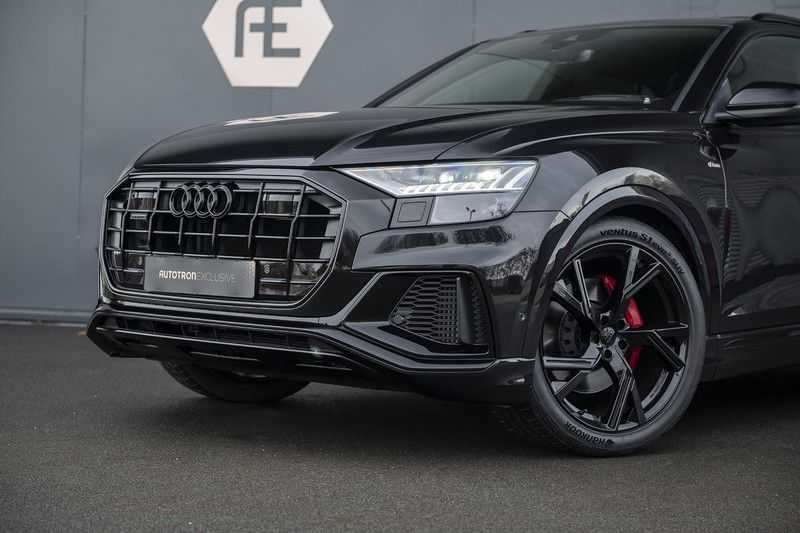 Audi Q8 55 TFSI quattro Pro Line S 3x S-Line! Black pack, 4-wiel-best. / Massage, Verw. & Koelb. stoelen, Bang & Olufsen 3D + Elek.Haak + Ambiente verlichting afbeelding 11