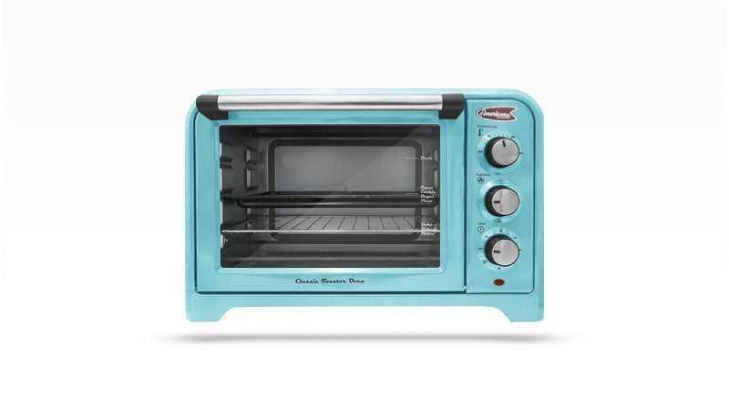 Maxi-Matic ERO-2600BL Americana Retro Toaster Oven