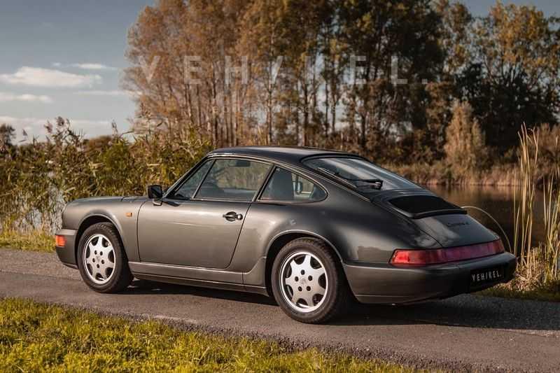 Porsche 911 964 3.6 Carrera 4 Coupé // Schiefergrau afbeelding 16
