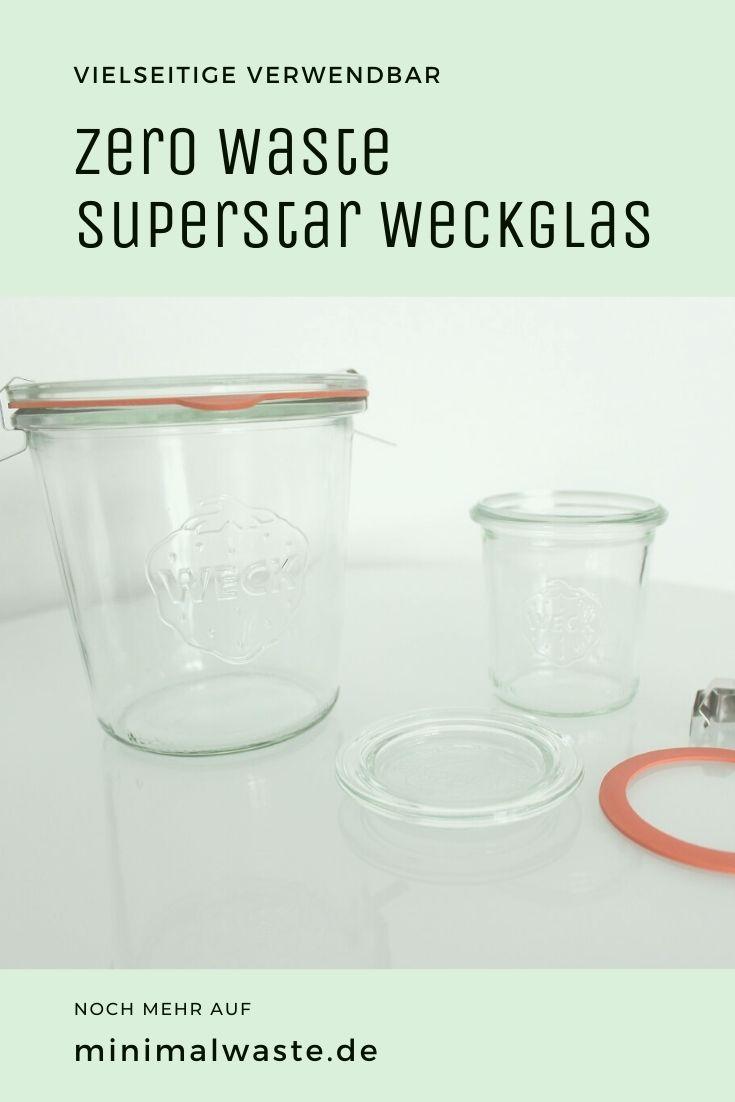 Pinterest Cover zu 'Der Zero Waste Superstar: Das Weckglas'