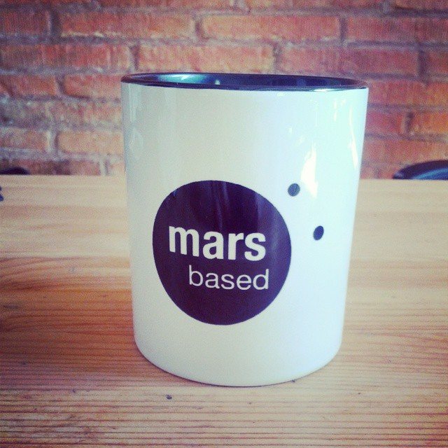 MarsBased coffee mug