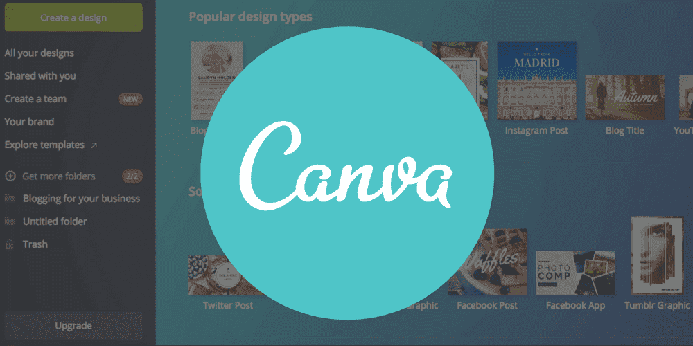 Creating graphics using Canva
